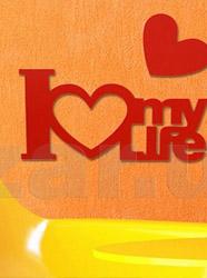 LOVE - букви, символи